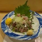 魚がし寿司 - いわし刺し