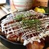 おこのみ亭 - 料理写真:大阪流ミックス。カリカリに焼かれた豚がまたうまい!(2017.03)