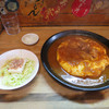 Karendo - 料理写真:チキンカリー(オムライススタイル)