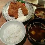 ディヨンナナショクドウ - 長崎定食 松浦港のアジフライ
