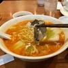 中国家常麺房 趙之家 福重分店 - 料理写真:カキ湯麺 赤(1,000円+税)