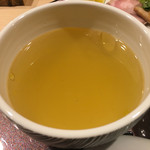 らぁ麺 山雄亭 - つけ汁