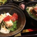 竹富島 - ジーマミー豆腐サラダ