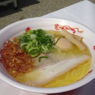 若武者 - 料理写真:福島鶏白湯(+味玉)