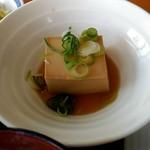 カウベル - 温豆腐。
