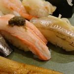 のと前回転寿司 - 生のハタハタにはびっくりしました