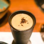 肉匠堀越 - 和牛テール茶碗蒸し