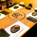 肉匠堀越 - 個室テーブル