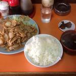 光栄軒 - 焼肉定食 \590