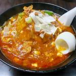 元祖旨辛系タンメン 荒木屋 - 「五目麻婆麺」(850円)