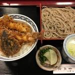金城庵 - 天丼セット