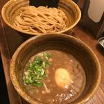 64123115 - 味玉入りつけ麺