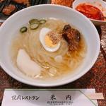 Nikunoyonai - 料理写真:冷めん