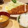 Maruichi - 料理写真:ロースかつ定食 1100円