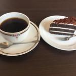 カフェハンズ - 料理写真:ケーキセット710円