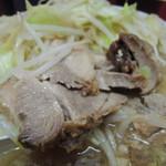 ラーメン二郎 - 【再訪】豚