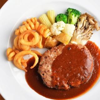 [肉]スギモトのハンバーグ