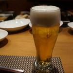 小田原おでん本店 - 生ビール
