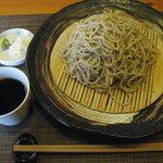 猪口才 - 土、日10食限定、粗挽き十割 ¥880