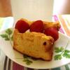 たべものと日用品WAO - 料理写真:シフォンのイチゴクリームサンド