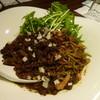 汁なし担担麺ピリリ - 料理写真:黒胡麻坦坦麺(汁なし)