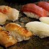 銀座すし和 - 料理写真:最初のにぎり3人前