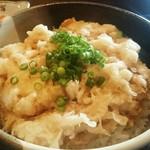和伊んや - 白魚のかき揚げ丼 1,000円 メニュー外
