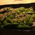 Luckyfingers - 料理写真:Hot spicy Edamame ¥540