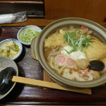手打麺THE・うどん 大 - 鍋焼きうどん(1274円)_2017-03-16