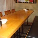 八詩 - テーブル席