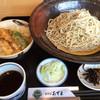 生そば あずま - 料理写真:海老天丼セット=950円 税込 そばは3玉やけん