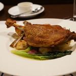 フランス食堂  オ・コションブルー - 鴨のコンフィ・・メニューには有りません。