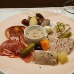 フランス食堂  オ・コションブルー - アシェット ド グルマン