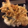 とよ常 - 料理写真:特上天丼750円
