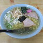 あさの食堂 - 料理写真:塩ラーメン(600円)