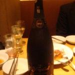 八詩 - クーポンでもらったスパークリングワイン