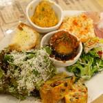 YAICHIRO - 前菜盛り合わせ六種