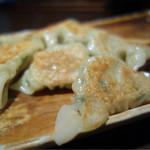 梨楽 - 焼餃子¥400-