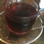 すみだ珈琲 - すみだブレンド(浅煎り)@480円。江戸切子のカップです。