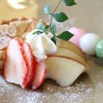 カフェ イロハ - IROHAかご弁当のデザート