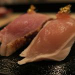 鶏割烹 ならや - お寿司~~