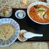 志峰飯店 - 料理写真:Aセット(ピリ辛ラーメン)(1080円)