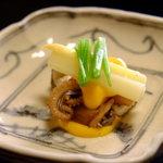 祇園 にしかわ - イイダコとアスパラガス黄身酢