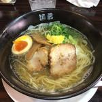 麺蔵ひの屋 - 白醤油ラーメン