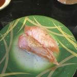 廻転とやま鮨 - 炙りサーモン