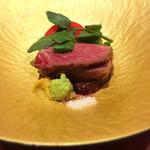 華やぎ - イチボの炭火ステーキ