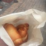 コッペん道土 - 塩パンは5個入り。300円。バラでは売られていません。