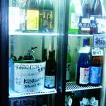 クランドサケマーケット - 店内の酒ケース