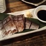 はなまる串カツ製作所 - シメサバ炙り480円