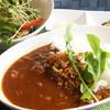 ガーデンセンター華遊オープンカフェシナモン - 料理写真:牛すじカレー